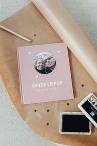 Onze liefde fotoboek