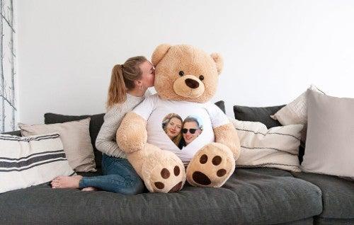 Archibald l'ours en peluche géant
