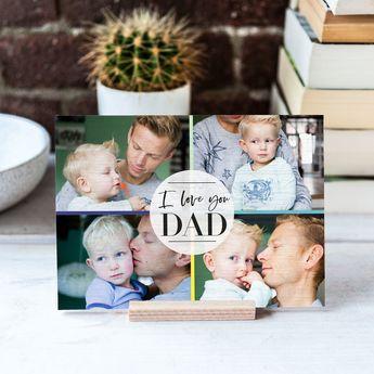 Cadeau voor papa