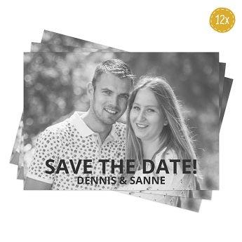 Cartões de convite de foto