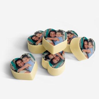Coeurs en chocolat