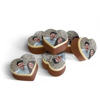 Chocolats avec photo