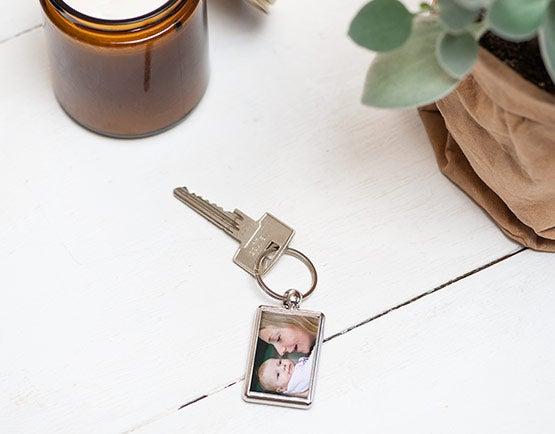Sleutelhanger maken met naam of foto