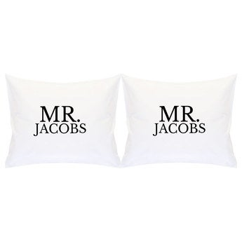 Printed pillowcase set