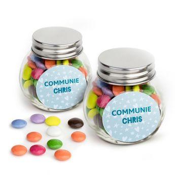 Chocolates in jar