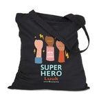 Linnen tas Super Hero