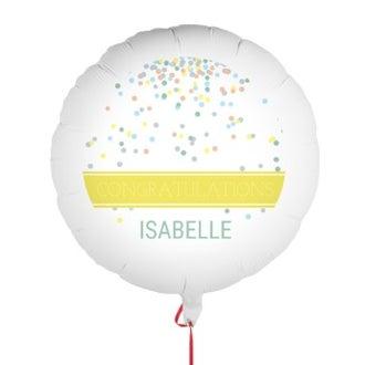 Ballon félicitations