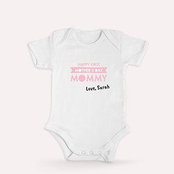 1. äitienpäivä vauvan body