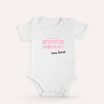 First Mother's Day romper