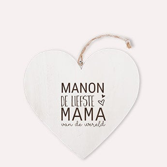 Wooden heart - Mother's Day