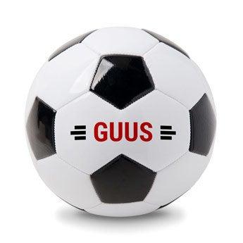 voetbal met eigen naam