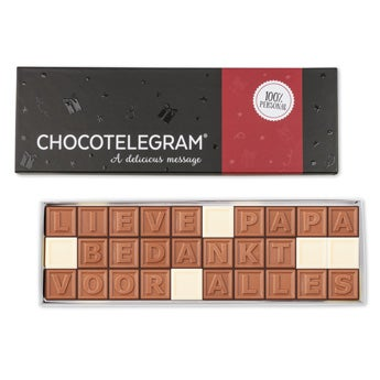 Chocolat fête des Pères