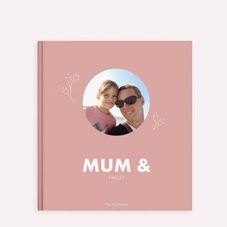 Lag en fotobok - Mamma og jeg/oss