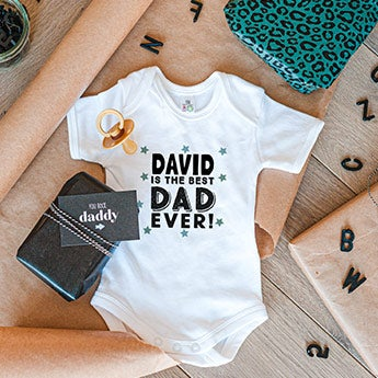 Romper - First Father's Day