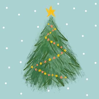 Babyens første jul