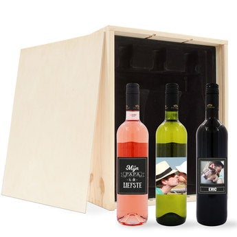 personalised wine gift sets