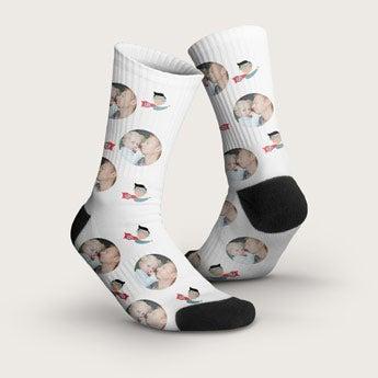 Ponožky s fotografií