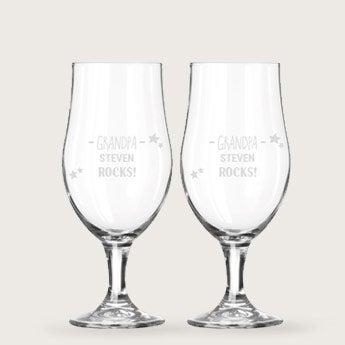Beer glasses - Grandpa