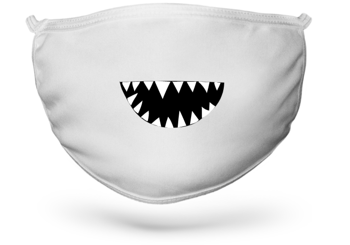 masque dents de requin