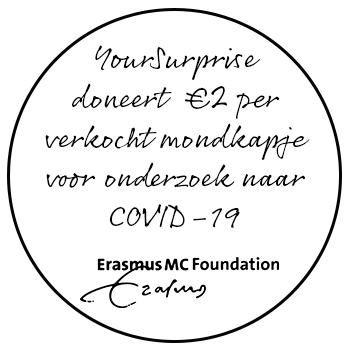 YourSurprise steunt ErasmusMC en het onderzoek naar Covid-19