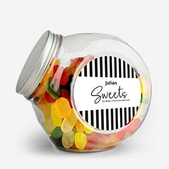 Süßigkeitenglas - Kunsstoff