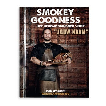 Smookey Goodness boek gepersonaliseerd