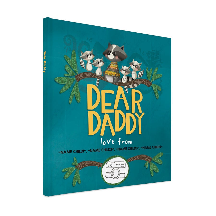personalised Father's Day book