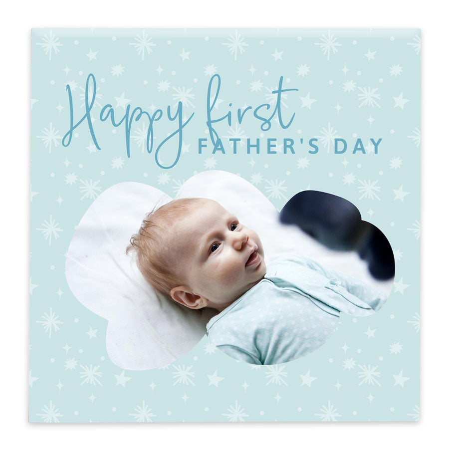 First Father's Day decorative tile