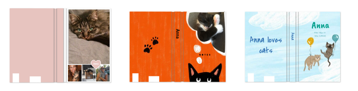 personalised cat photo planner