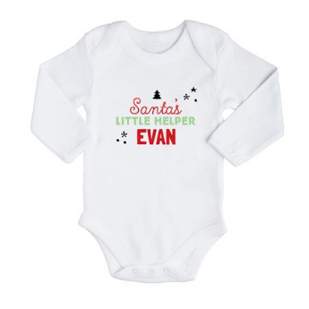 Baby's first Christmas romper