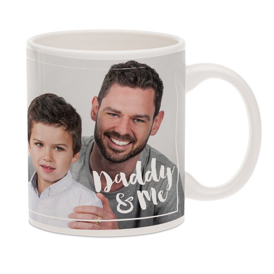 Taza con foto para papá