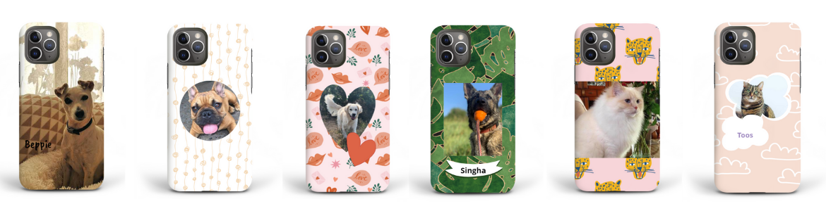phone case featuring your pet