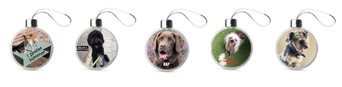 baubles featuring your pet