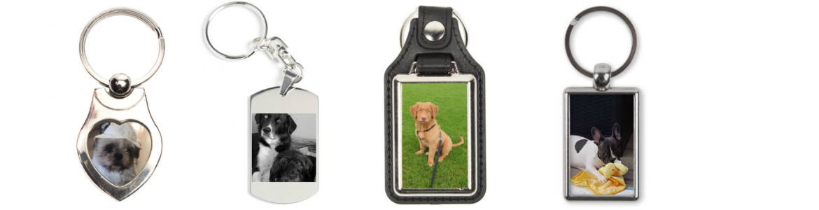 key ring featuring your pet