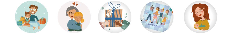 cadeaux pour vos proches et amis