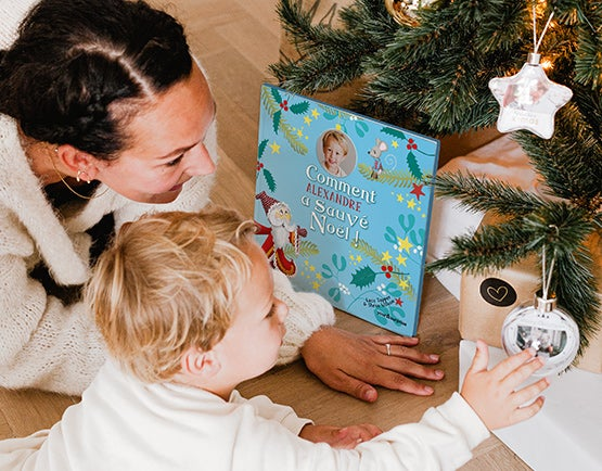 Livre pour enfant Sauver Noël