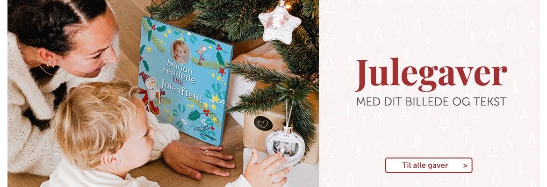 Julegaver med foto og tekst