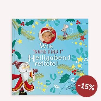 Personalisiertes Weihnachtsbuch