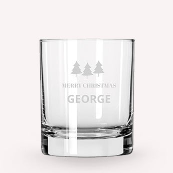 Whiskey Glas Kerst