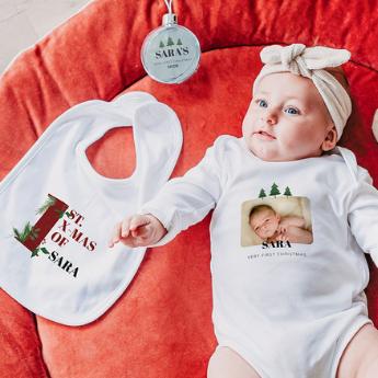 Presentes para o primeiro Natal do bebê