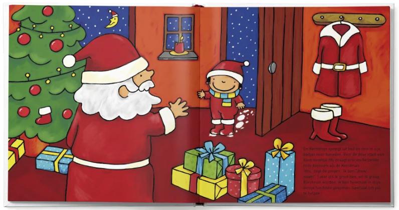pagina uit het boek Jouw kind als kerstman