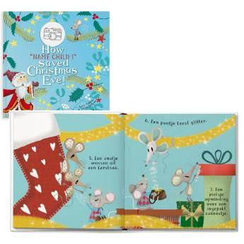 Personalised Saving Christmas Eve book