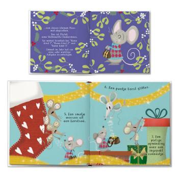 Personlig bog gaven der redder julen