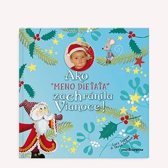 Detská knižka -Záchrana Vianoc