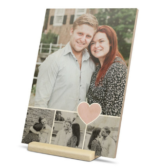 Send a wooden greeting card
