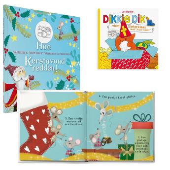 Sinterklaas en kerstboekjes