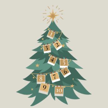Aftellen naar de kerstdagen