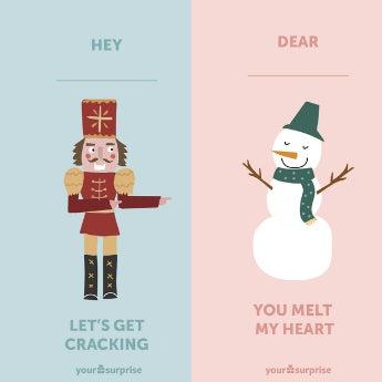 Carte de Noël à télécharger