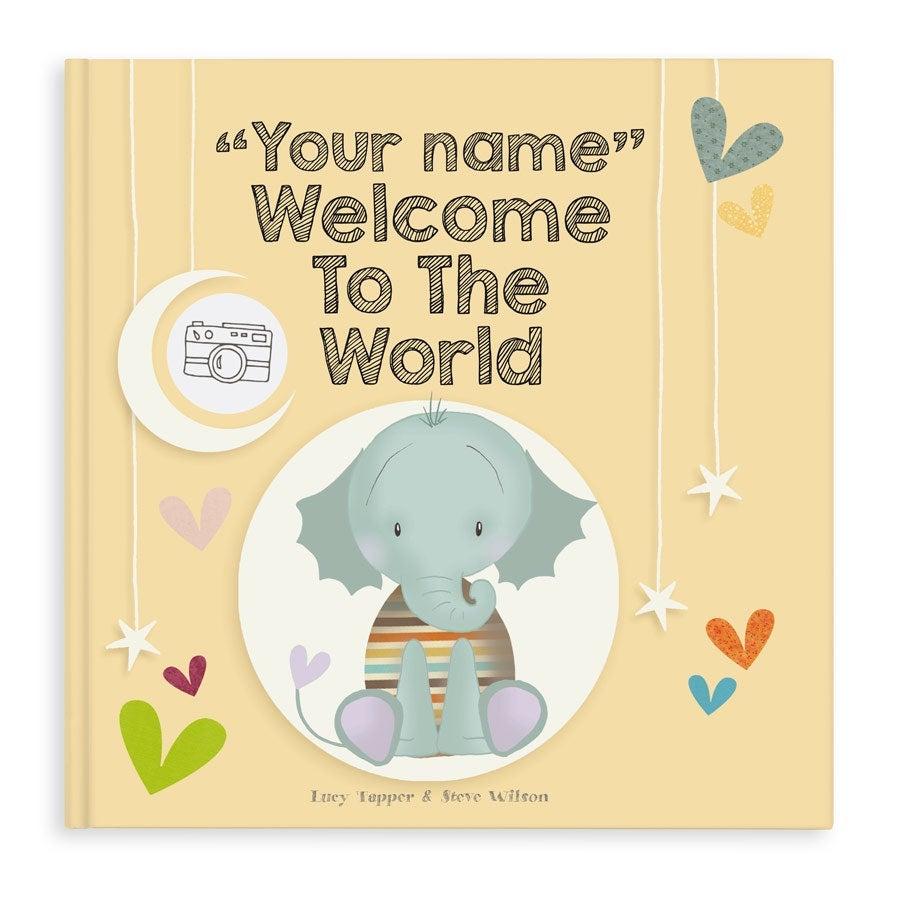 personalised newborn book