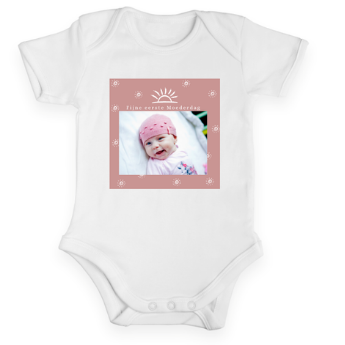First Mother's Day baby romper